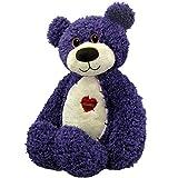First & Main Purple Tender Teddy Plush Toy