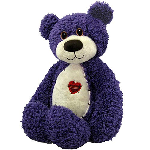 First & Main Purple Tender Teddy Plush Toy -