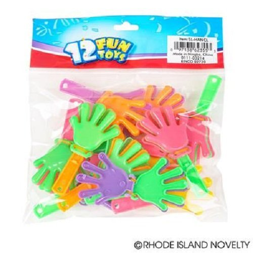 ~ 144 ~ Mini Hand Clappers / Clakkers ~ 3