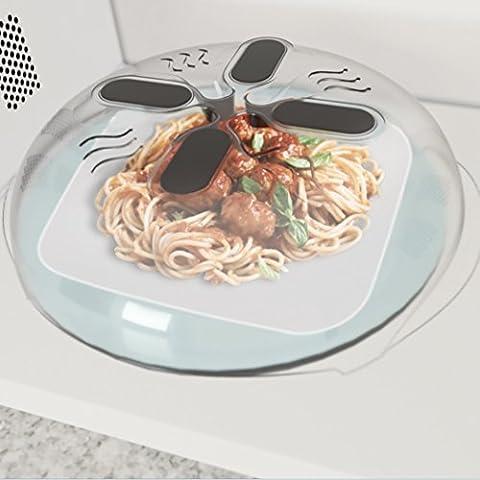 Allstar Innovations Hover Cover - Magnetic Microwave Splatter Lid with Steam Vents | Dishwasher-Safe & BPA-Free | 11.5 – (Appliances)