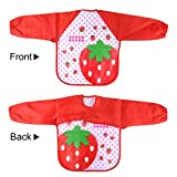 KUUQA Waterproof Children Art Smock Kids Aprons