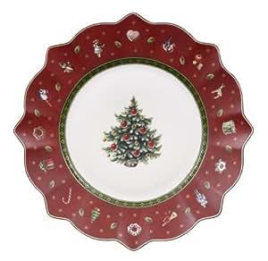 Villeroy & Boch 14-8585-2640 - Plato de ensalada, color rojo