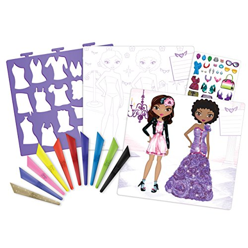 Fashion angels fashion design sketch portfolio artist set for Fashion designer craft sets