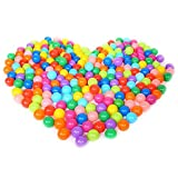 Addision 200 pcs Colorful Ball Fun Ball Soft Plastic Ocean Ball Baby Kid Toy Swim Pit Toy