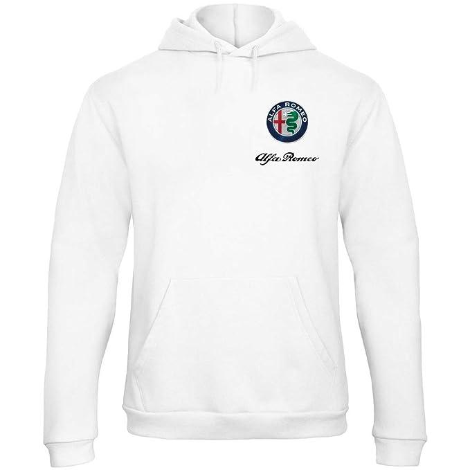 Racing Romeo Cappuccio Alfa Felpa Rally Logo Zetamarkt Con dtQrhs