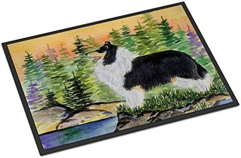 Caroline s Treasures SS8203JMAT Collie Indoor or Outdoor Mat 24×36 Doormat, 24H X 36W, Multicolor