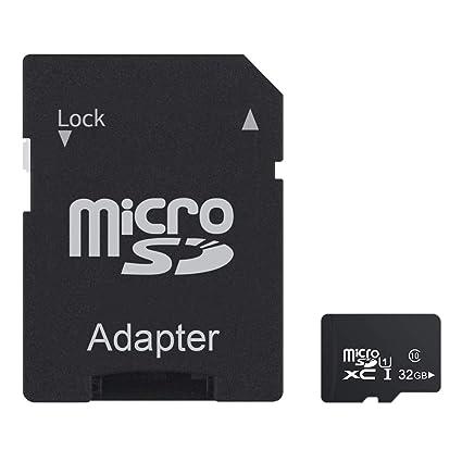 Tarjeta de Memoria microSDXC 32 GB UHS-1 U1 Clase 10 TF de Tarjeta ...