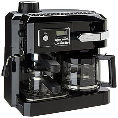 DeLonghi BCO320T Combination Espresso and Drip Coffee- Black from DeLonghi America, Inc.