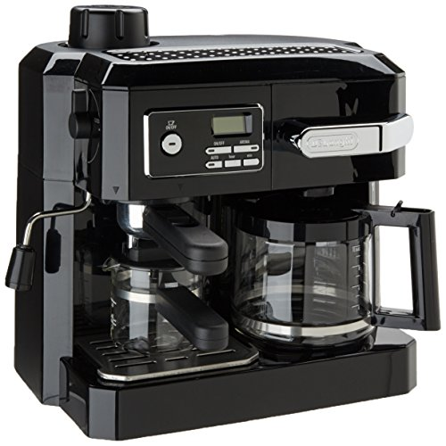 DeLonghi BCO320T Combination Espresso and Drip Coffee- Black by DeLonghi