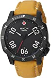 nixon ranger - Nixon Men's 'Ranger' Quartz Metal and Leather Watch, Color:Orange (Model: A5082448-00)
