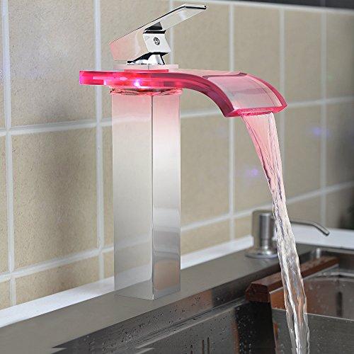 Deck Mount Faucets Bathroom Sink - 4