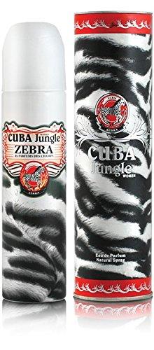 Amazoncom Cuba Jungle Zebra By Champs For Women Eau De Parfum