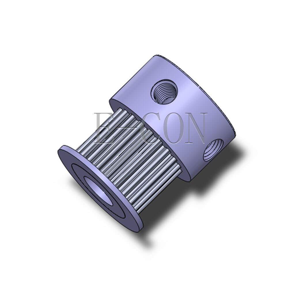 Fevas GT2 20 Teeth Timing Pulley Alumium Bore 8mm//6.35mm Teeth Width 11mm for Width 10mm GT2 Timing Belt and 3D Printer Stepper Motor Bore Diameter: 6.35mm