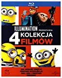 Minions / Despicable Me / Despicable Me 2 / Despicable Me 3 Collection (BOX) [4Blu-Ray] (English audio)
