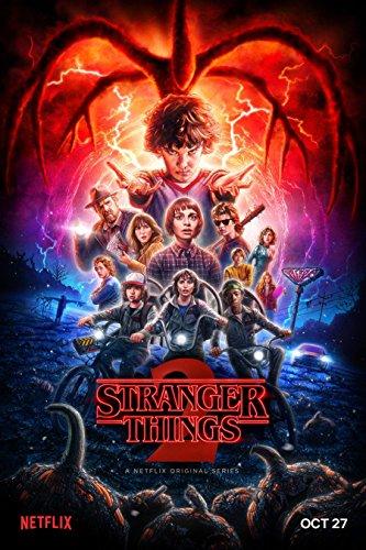 Stranger Things Poster 2017 Season Two 2 II Style B
