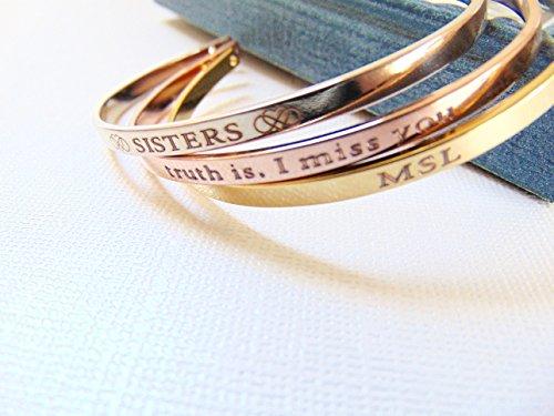 Bridesmaid Coordinates Bracelet customized Longitude product image