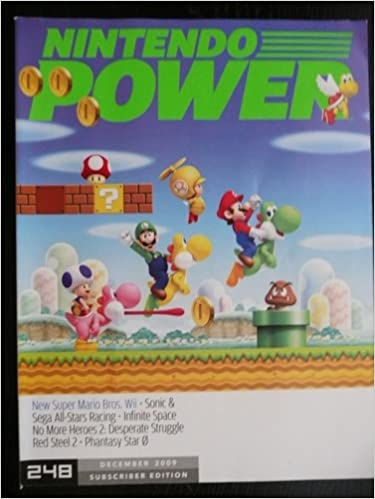 Nintendo Power December 2009 New Super Mario Bros Phantasy Star 0 No