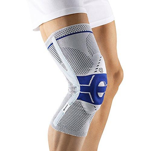 Bauerfeind GenuTrain P3 Knee Support (Titanium, Left 6) by Bauerfeind