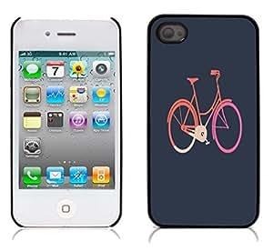 nazi diy BIKE Hard Plastic and Aluminum Back Case for Apple iphone 4 4S