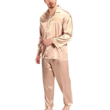 Pratnd Pajamas Women Long Sleeve Solid Pyjamas Men Love Sleepwear Womans Lounge Couples Pajama Sets Pijama