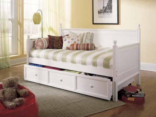 Maple Finish Wood Daybed - 8