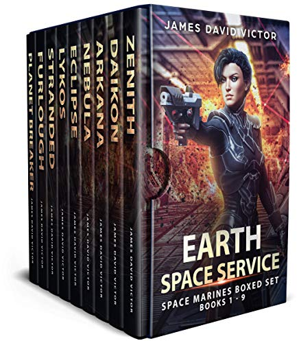 Earth Space Service Space Marines Boxed Set by [Victor, James David]