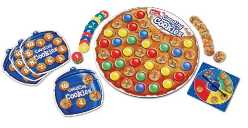 Learning Resources LER7410 Smart Snacks Counting Cookies Gam