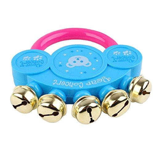 Kids Baby Handbell Design Musical Toy Instrument Jingle Rattle➪Laimeng