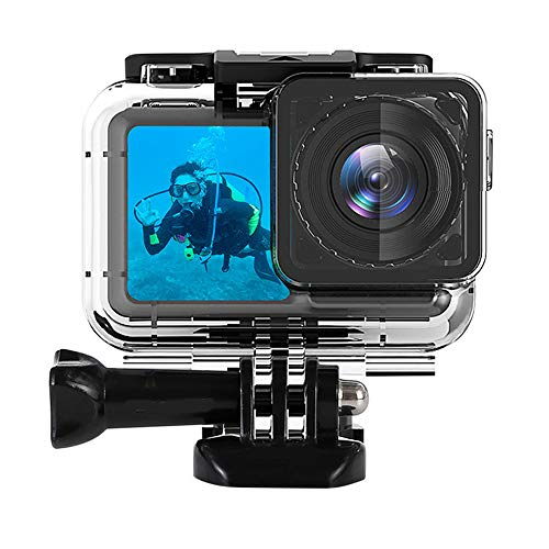 Waterproof Housing for DJI OSMO Action Camera, Protective Rotective Underwater Photography Diving Case Cover for OSMO Sports Cam, Up to 200ft/61M (Best Camera For Underwater Photography 2019)