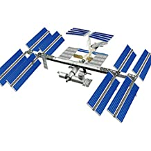4D Vision International Space Station with Space Shuttle, 60-Piece, 1/450 Scale
