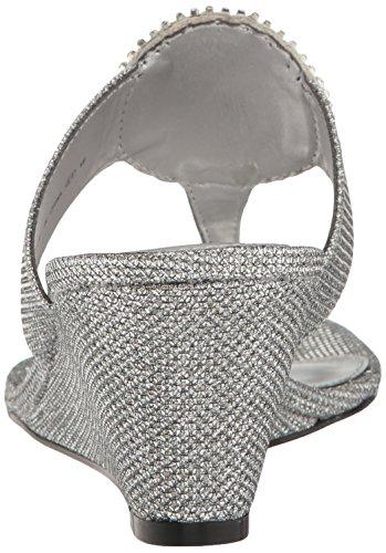 Adrianna Papell Kvinders Casey Kile Sandal Antik Sølv srvTEk