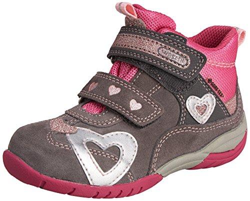 Superfit SPORT3 Mädchen Hohe Sneakers Grau (STONE KOMBI 06)