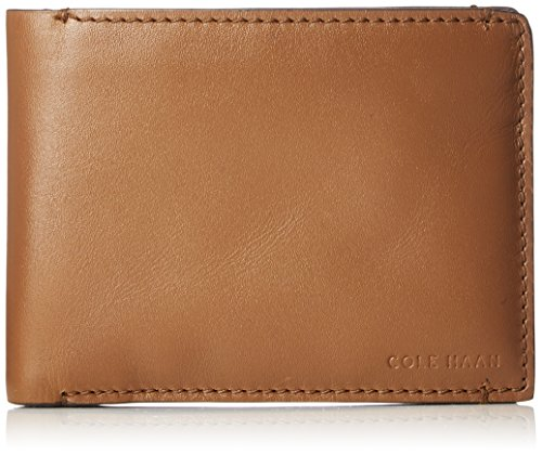 - Cole Haan Men's Washington Grand Bifold W/PASSCASE, luggage, No No Size