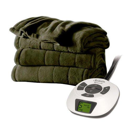 sunbeam electric blanket velvet - 3