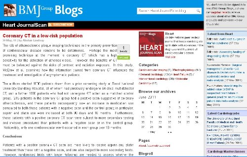 Heart JournalScan Blog (Heart Cardiology Journal)