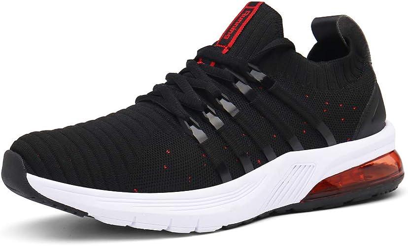 Monrinda Zapatillas Running Hombre Mujer Air Deportes Calzado Casual Sneakers Verano Transpirables Comodos Zapatillas Sport: Amazon.es: Zapatos y complementos