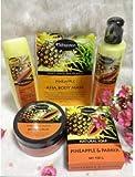 Set x 5Pcs Nongnaka Fruity White Beauty Pineapple & Papaya AHA Body Whitening by LITTLE BEE 2017