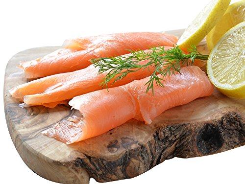 Wild Caught Smoked Sockeye Salmon Lox Cold Smoked Nova Pacific Canadian Fish Sliced (2 Lbs (4 x 1/2 - Canadian Hot Men