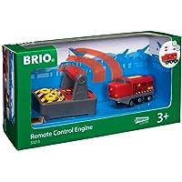 BRIO World 33213 Fjärrstyrt lok 2 delar Leksakståg med tillbehör. För barn från 3 år. För tågälskare.