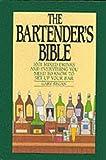 The Bartender's Bible, Gary Regan, 006016722X