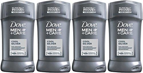 Dove Men + Care Cool déodorant antitranspirant argent 2.7 Oz (Pack de 4)