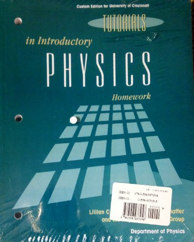 tutorials in introductory physics homework answers