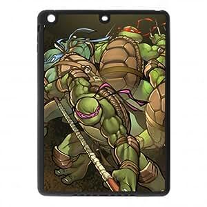 DIY Popular Cartoon & Anime Teenage Mutant Ninja Turtles TMNT único ipad aire Tpu caso cover-best Duarble plástico cubierta