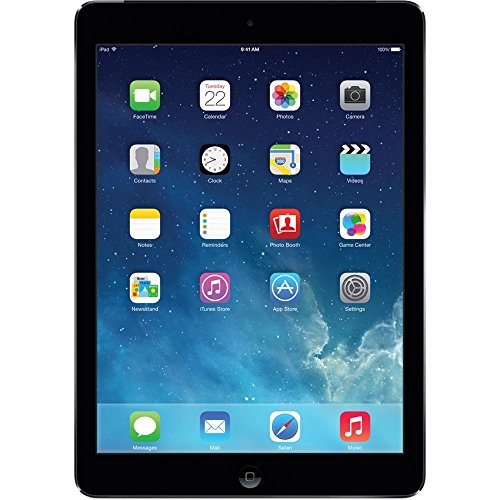 (Apple iPad Air 16GB Wifi + Cellular Unlocked 9.7in Black (Renewed))