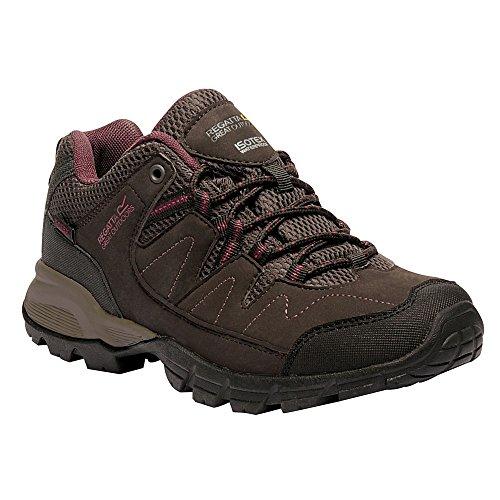 Regatta Lady Holcombe, Zapatos de Senderismo Mujer Marrón (Peat/rosebl)