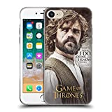 Official HBO Game of Thrones Tyrion Lannister Character Quotes Soft Gel Case for Apple iPhone 7 / iPhone 8