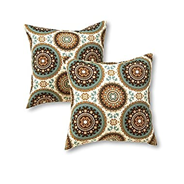 Greendale Home Fashions Indoor/Outdoor Accent Pillows, Spray, Set of 2