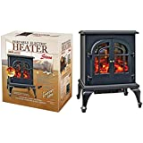 Comfort Zone Czfp5 2 Door Electric Fireplace Heater