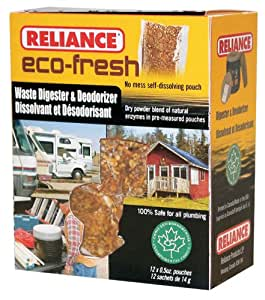 Productos Reliance Eco-Fresh Desodorante WC y digestor