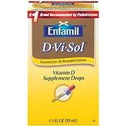Enfamil D-Vi-Sol Vitamin D Supplement Drops, 50mL (Pack of 3)